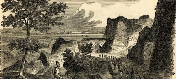 中城城の内部