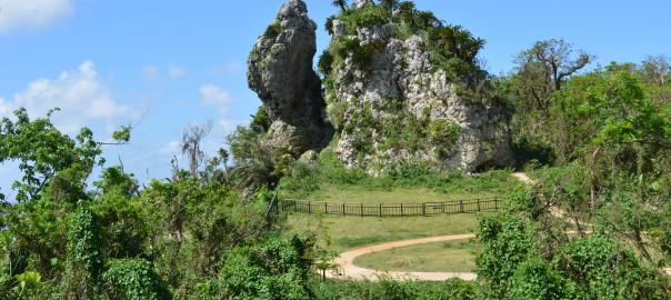 17ペリーの旗立岩①