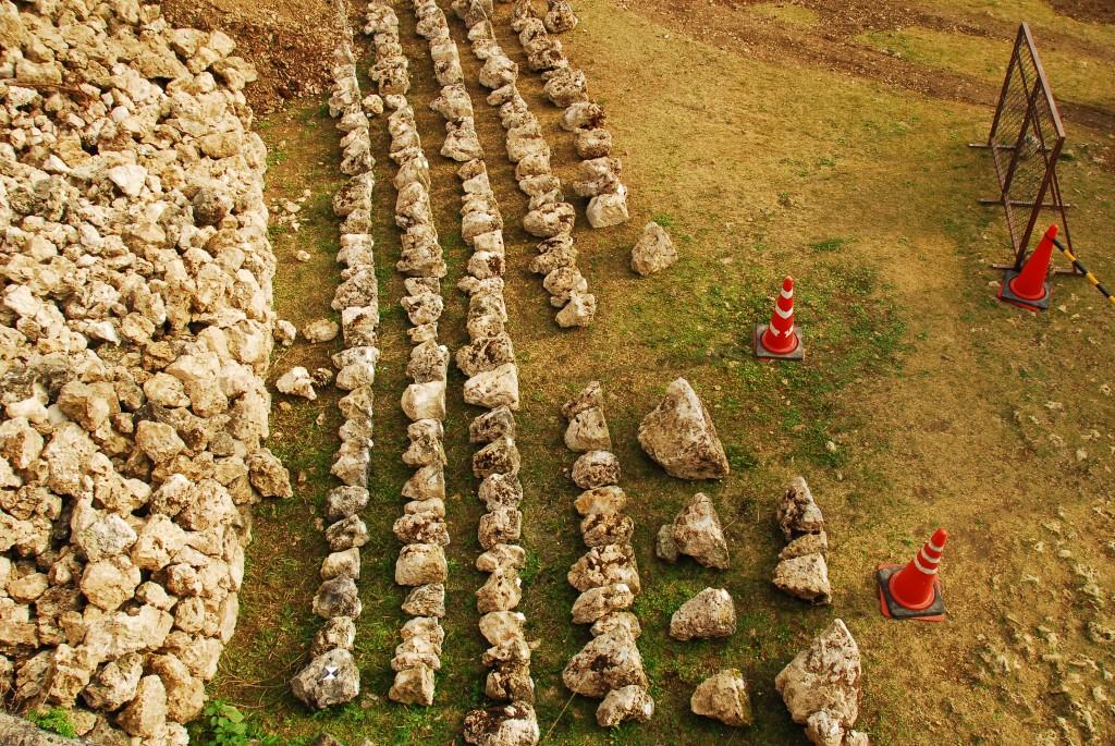 ④石材の保管・管理