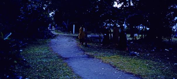 86 中城城跡 西の郭正門付近