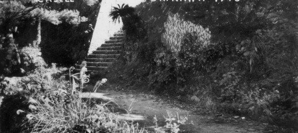 4 中城城跡 三の郭への階段