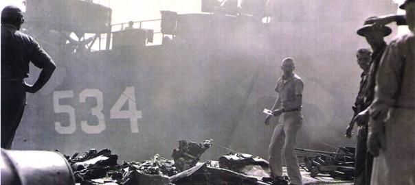 207 桟橋 墜落現場