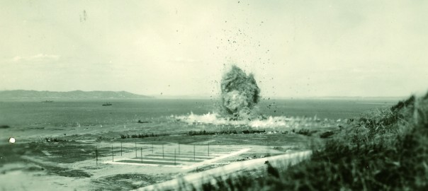 164 不発弾処理の様子