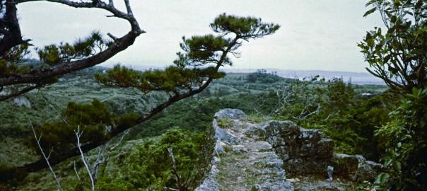 115 中城城跡から見た風景