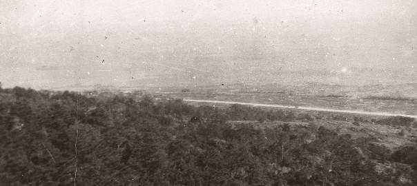102 中城城跡から見た中城村