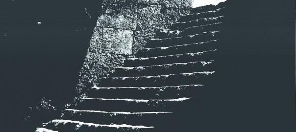 31 中城城跡 三の郭への階段