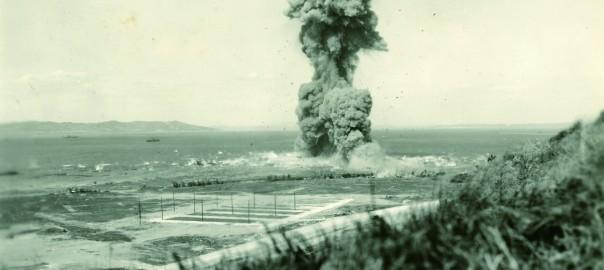 165 不発弾処理の様子