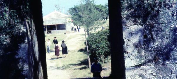 55 中城城跡 アーチ門
