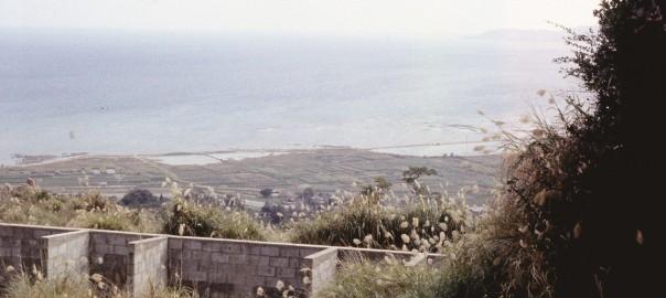 99 中城城跡から見た中城湾