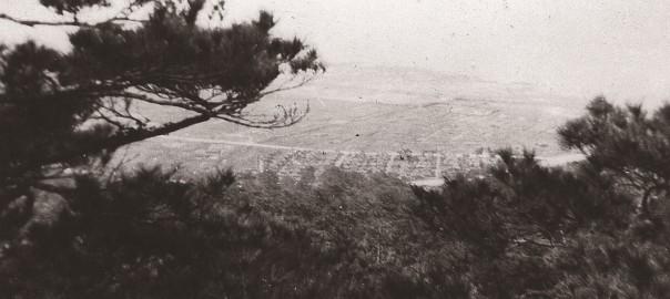101 中城城跡から見た中城村