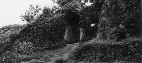 94 中城城跡 二の郭のアーチ門
