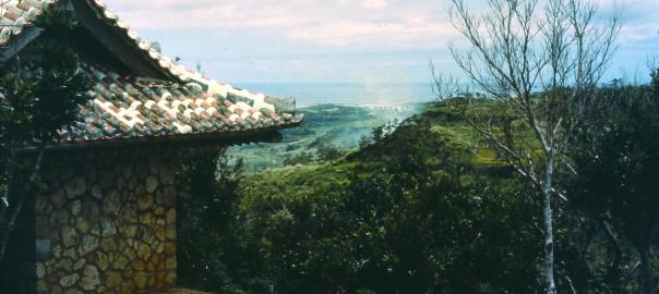 105 中城城跡から見た風景