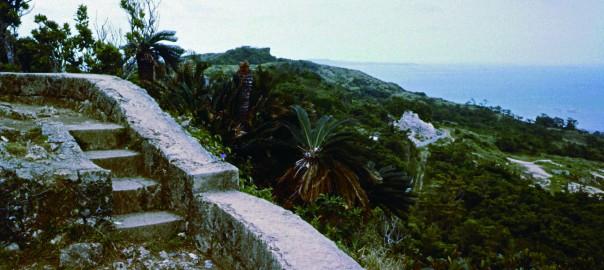 114 中城城跡 一の郭から見た風景