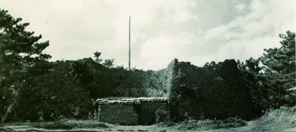 47 中城城跡 アメリカ軍第24陸軍の司令部