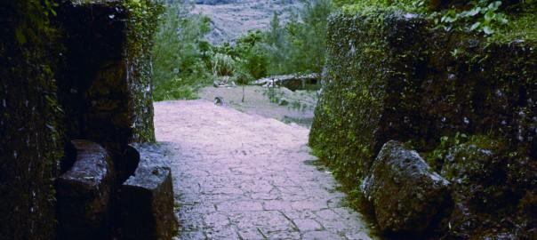 74 中城城跡 南の郭のアーチ門