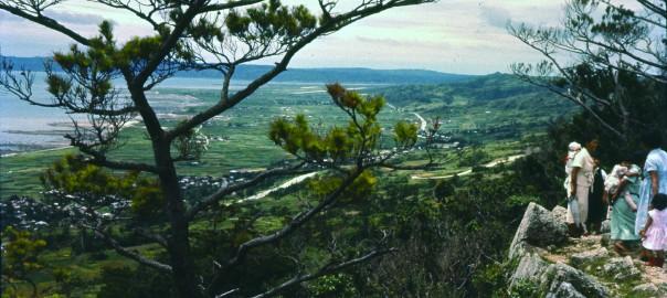 111 中城城跡 三の郭から見た風景